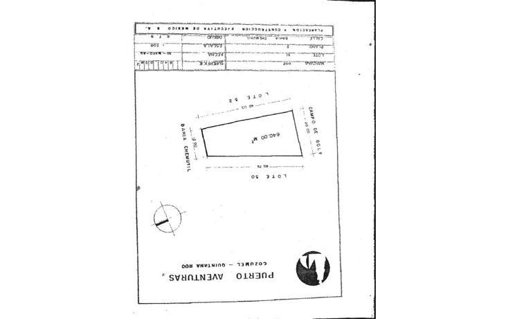Foto de terreno habitacional en venta en  , puerto aventuras, solidaridad, quintana roo, 1394019 No. 04