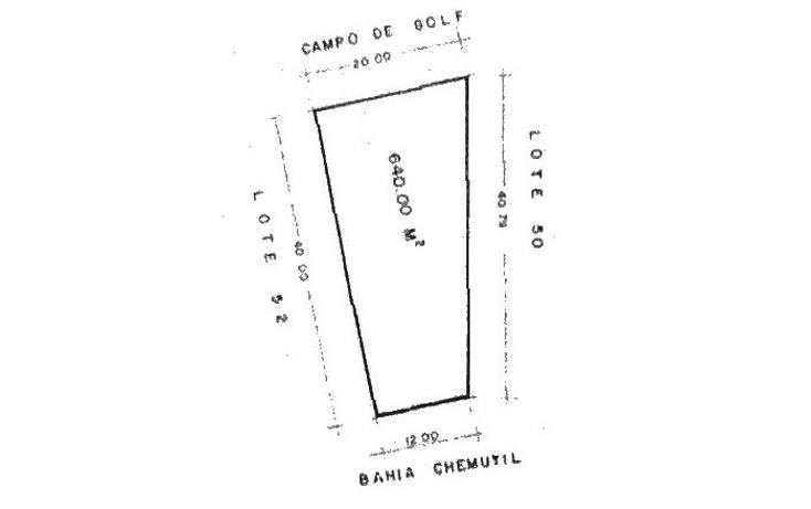 Foto de terreno habitacional en venta en  , puerto aventuras, solidaridad, quintana roo, 1482783 No. 02