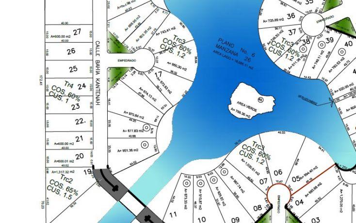 Foto de terreno habitacional en venta en, puerto aventuras, solidaridad, quintana roo, 1760272 no 02