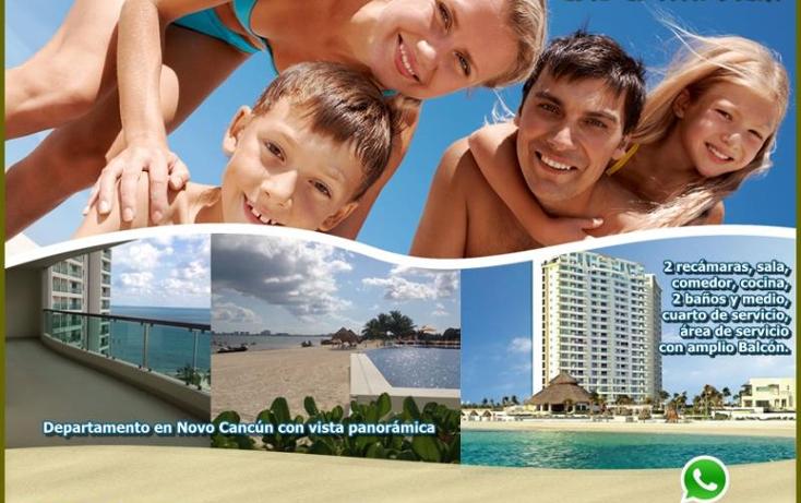 Foto de departamento en venta en puerto cancun vista panoramica, zona hotelera, benito juárez, quintana roo, 1897974 No. 01