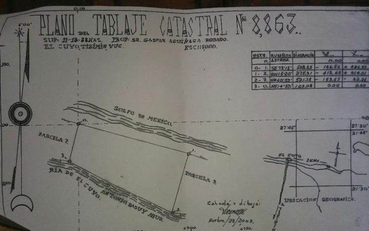 Foto de terreno habitacional en venta en, puerto de san felipe, san felipe, yucatán, 1874318 no 14
