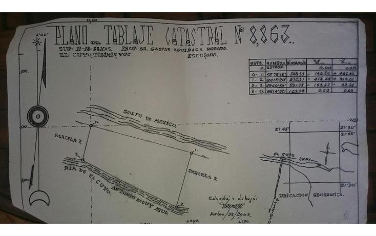 Foto de terreno habitacional en venta en  , puerto de san felipe, san felipe, yucatán, 1874318 No. 14