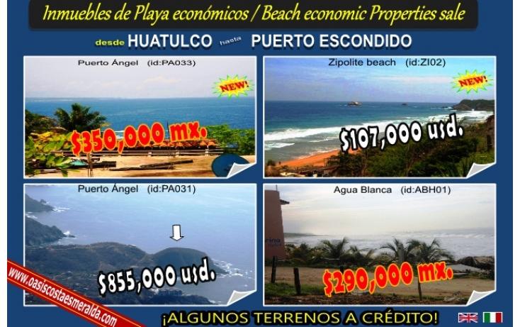 Foto de terreno habitacional en venta en puerto escondido, bacocho, san pedro mixtepec dto 22, oaxaca, 568923 no 02