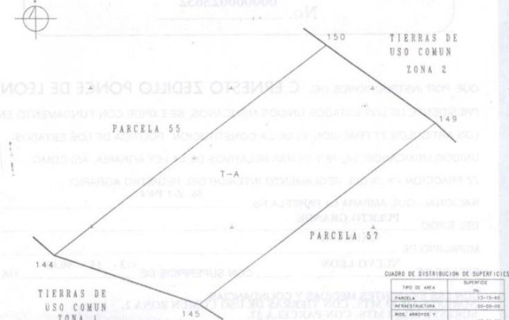Foto de terreno comercial en venta en puerto grande 56, el carmen, galeana, nuevo león, 386080 no 01