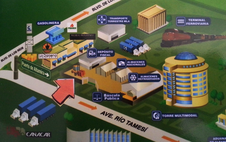 Foto de nave industrial en renta en  , puerto industrial de altamira, altamira, tamaulipas, 1280251 No. 08