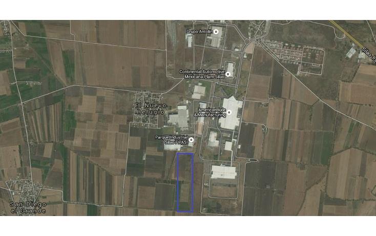 Foto de terreno industrial en venta en  , puerto interior, silao, guanajuato, 1399801 No. 02