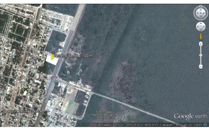 Foto de terreno comercial en venta en  , puerto morelos, benito juárez, quintana roo, 1042733 No. 01