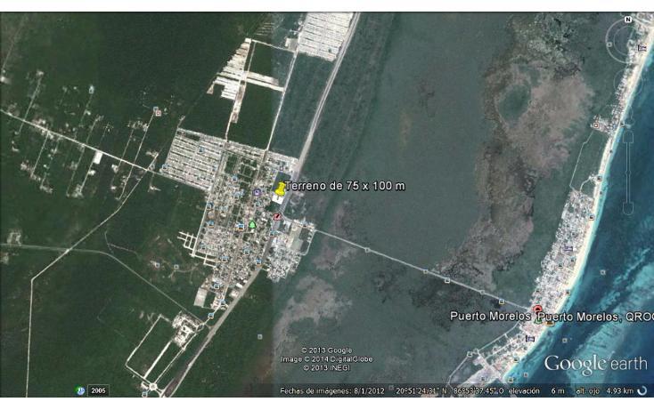 Foto de terreno comercial en venta en  , puerto morelos, benito juárez, quintana roo, 1042733 No. 02