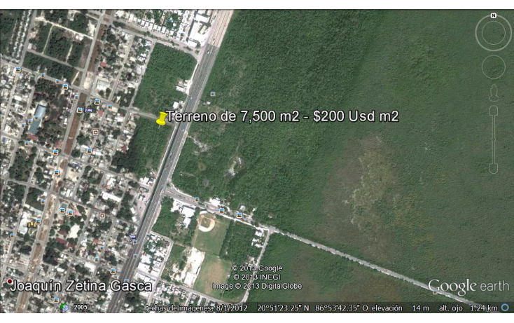 Foto de terreno comercial en venta en  , puerto morelos, benito juárez, quintana roo, 1042733 No. 04