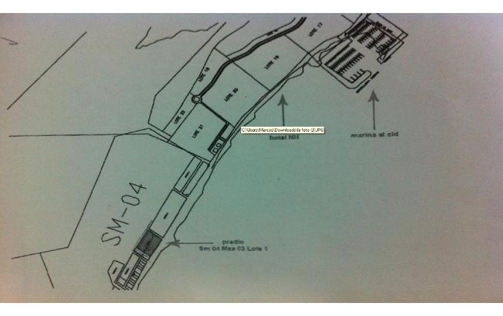 Foto de terreno comercial en venta en  , puerto morelos, benito juárez, quintana roo, 1075905 No. 09