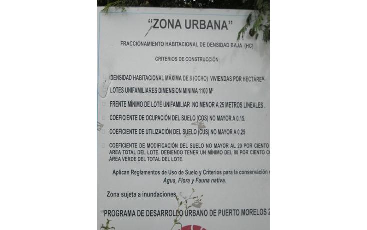 Foto de terreno habitacional en venta en  , puerto morelos, benito juárez, quintana roo, 1078363 No. 14