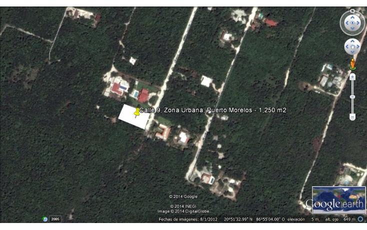 Foto de terreno habitacional en venta en  , puerto morelos, benito juárez, quintana roo, 1090915 No. 01