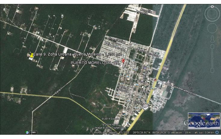 Foto de terreno habitacional en venta en  , puerto morelos, benito juárez, quintana roo, 1090915 No. 02