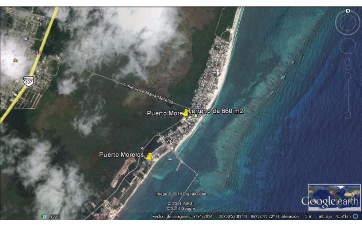 Foto de terreno comercial en venta en  , puerto morelos, benito ju?rez, quintana roo, 1100715 No. 05
