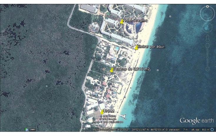 Foto de terreno comercial en venta en  , puerto morelos, benito juárez, quintana roo, 1117999 No. 10
