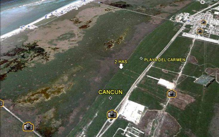 Foto de terreno comercial en venta en  , puerto morelos, benito juárez, quintana roo, 1165471 No. 02