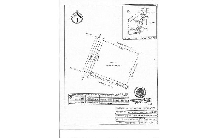 Foto de terreno comercial en venta en  , puerto morelos, benito juárez, quintana roo, 1165471 No. 03