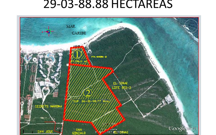 Foto de terreno comercial en venta en  , puerto morelos, benito ju?rez, quintana roo, 1309399 No. 07