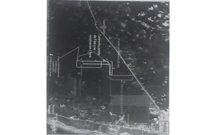 Foto de terreno habitacional en venta en  , puerto morelos, benito juárez, quintana roo, 1658901 No. 07