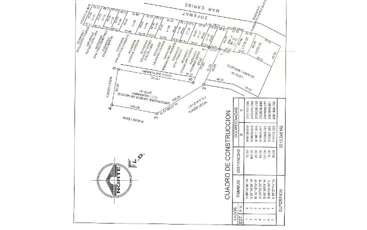 Foto de terreno habitacional en venta en  , puerto morelos, benito ju?rez, quintana roo, 1865230 No. 06