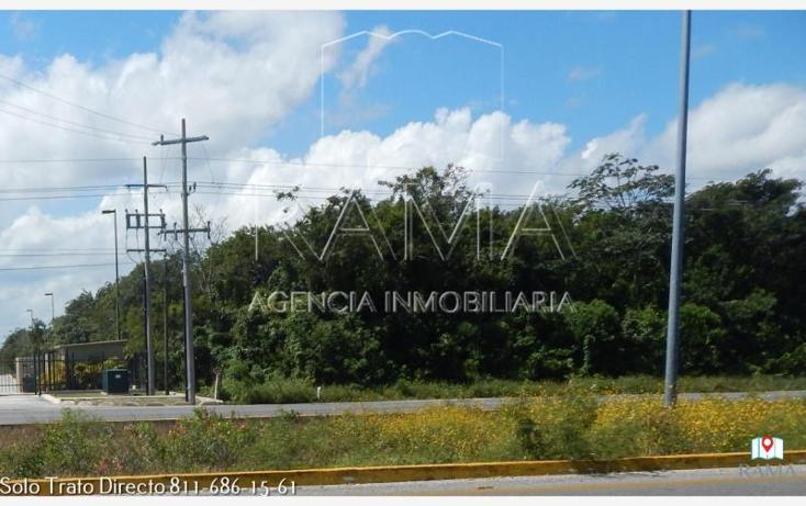 Foto de terreno comercial en venta en  , puerto morelos, benito juárez, quintana roo, 2031562 No. 02