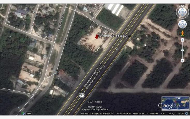 Foto de terreno comercial en venta en carretera federal puerto morelos - playa del carmen , puerto morelos, benito juárez, quintana roo, 603652 No. 01