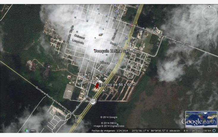 Foto de terreno comercial en venta en  , puerto morelos, benito juárez, quintana roo, 603652 No. 02