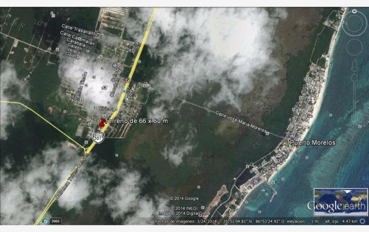 Foto de terreno comercial en venta en  , puerto morelos, benito juárez, quintana roo, 609659 No. 03