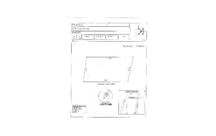 Foto de terreno habitacional en venta en  , punta brava, centro, tabasco, 1610014 No. 02