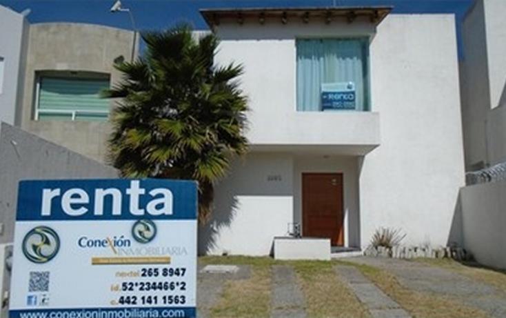 Foto de casa en renta en  , punta juriquilla, querétaro, querétaro, 1193015 No. 01