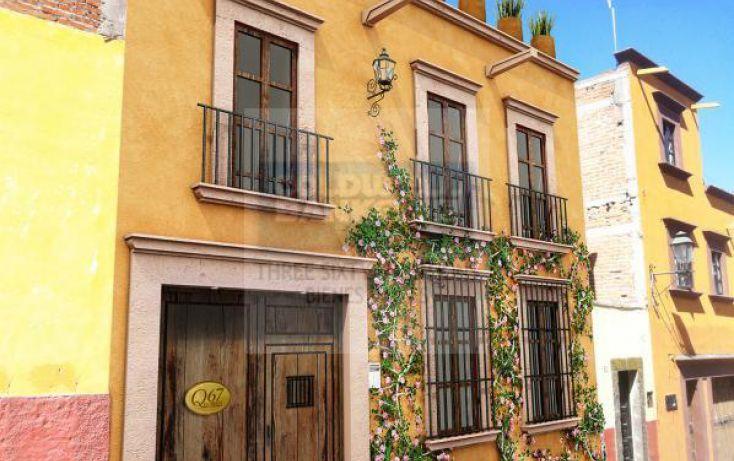 Foto de casa en condominio en venta en quebrada 67, san miguel de allende centro, san miguel de allende, guanajuato, 840783 no 01