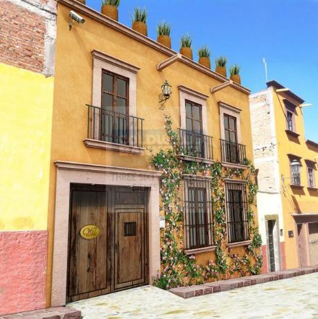 Foto de casa en condominio en venta en quebrada 67 , san miguel de allende centro, san miguel de allende, guanajuato, 840783 No. 01