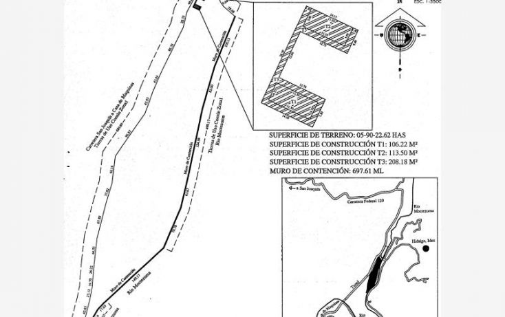 Foto de terreno habitacional en venta en querétaro culata san joaquin, querétaro, los martínez, cadereyta de montes, querétaro, 1944312 no 07