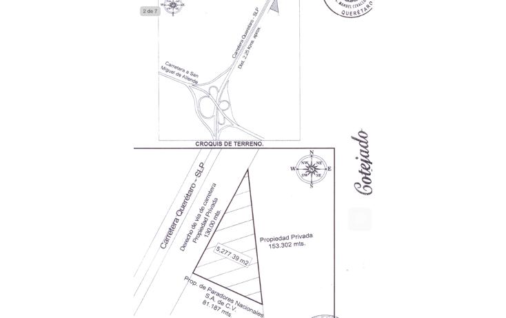 Foto de terreno comercial en venta en  , querétaro, querétaro, querétaro, 1225903 No. 03