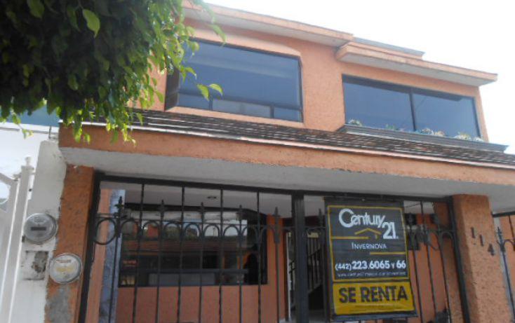 Foto de casa en renta en quetzal 114, el cortijo, querétaro, querétaro, 1702380 no 01