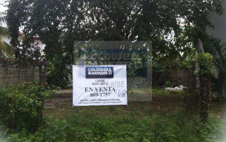Foto de terreno habitacional en venta en quinta av sur bis por calle 13 sur y calle 15 sur, cozumel, cozumel, quintana roo, 1521995 no 01