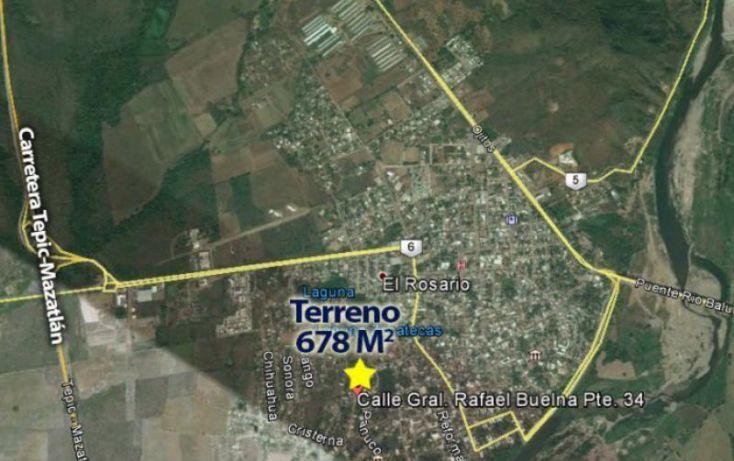 Foto de terreno habitacional en venta en rafael buelna, pablo de villavicencio, rosario, sinaloa, 1727144 no 05