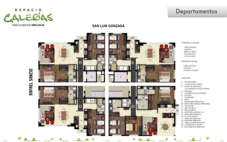 Foto de departamento en venta en  , la estancia, zapopan, jalisco, 1535793 No. 02