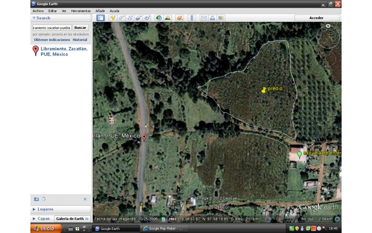Foto de terreno habitacional en venta en ramón corona o 2 poniente, san sebastián, zacatlán, puebla, 585985 no 05