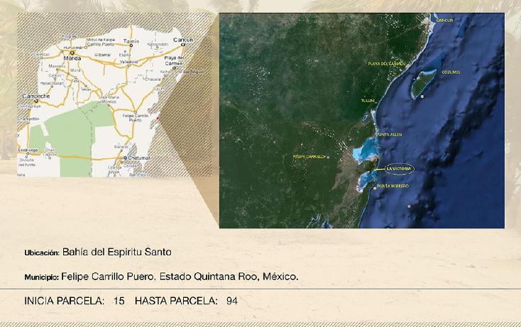 Foto de terreno comercial en venta en  , ramonal zona maya, felipe carrillo puerto, quintana roo, 1552720 No. 07