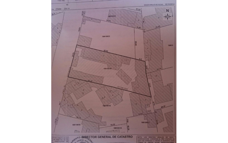 Foto de terreno habitacional en venta en  , rancho cortes, cuernavaca, morelos, 1677992 No. 01