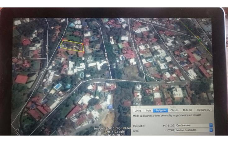 Foto de terreno habitacional en venta en  , rancho cortes, cuernavaca, morelos, 1677992 No. 02