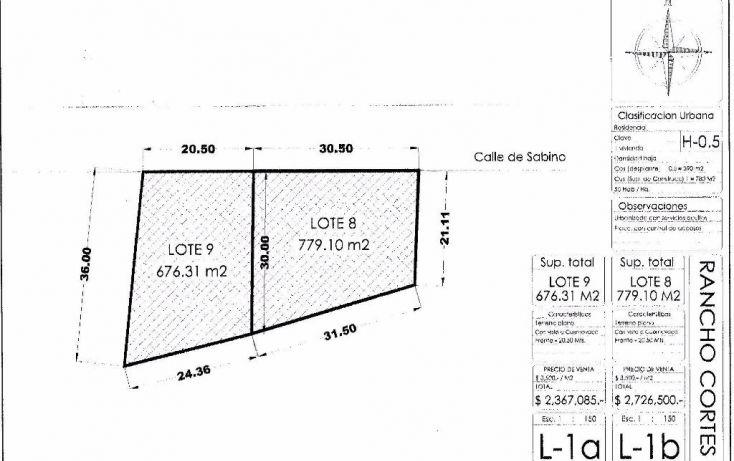 Foto de terreno habitacional en venta en, rancho cortes, cuernavaca, morelos, 1971101 no 02