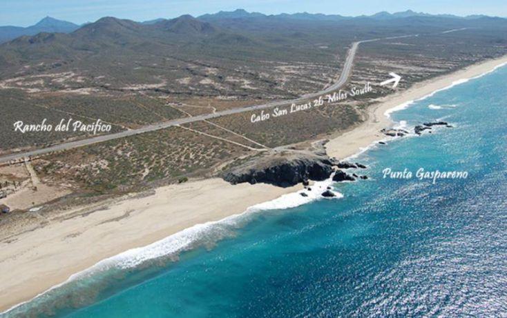 Foto de terreno habitacional en venta en rancho gaspareño, km 835 carr todos santos cabo san lucas 835, zona central, la paz, baja california sur, 1335373 no 01