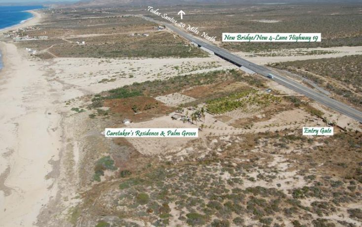 Foto de terreno habitacional en venta en rancho gaspareño, km 835 carr todos santos cabo san lucas 835, zona central, la paz, baja california sur, 1335373 no 05