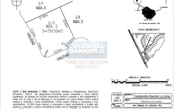 Foto de terreno comercial en venta en rancho la loma - lote 2 , san miguel de allende centro, san miguel de allende, guanajuato, 1841192 No. 08