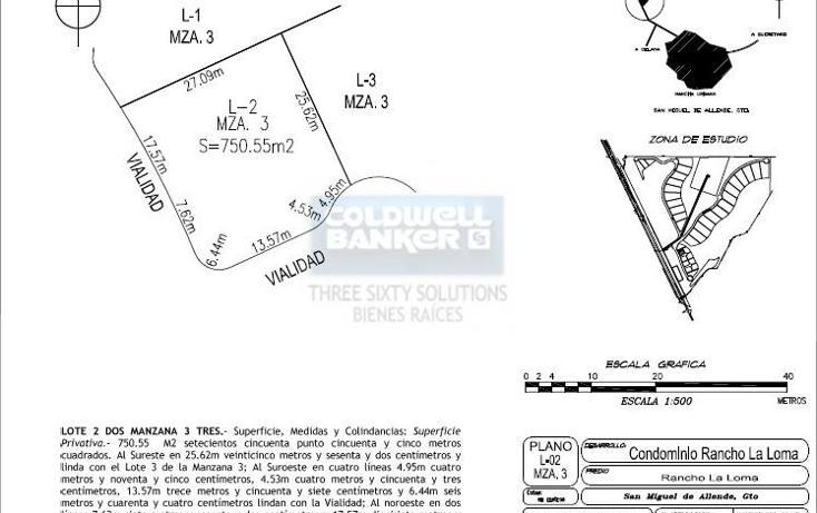 Foto de terreno habitacional en venta en  , san miguel de allende centro, san miguel de allende, guanajuato, 831839 No. 08