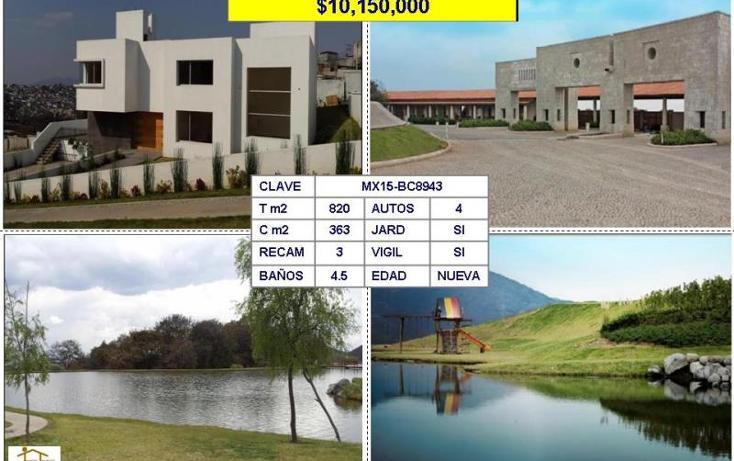 Foto de casa en venta en  , rancho san juan, atizapán de zaragoza, méxico, 1310287 No. 01