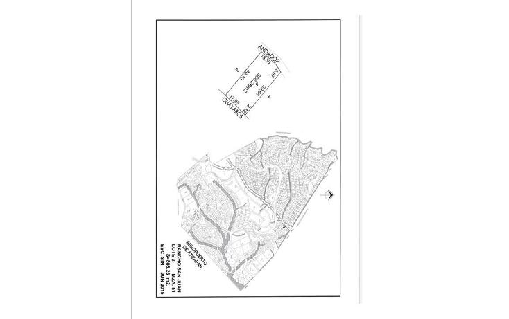 Foto de terreno habitacional en venta en  , rancho san juan, atizap?n de zaragoza, m?xico, 1340117 No. 01
