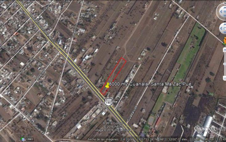 Foto de terreno habitacional en venta en, real de huejotzingo, huejotzingo, puebla, 1977158 no 03
